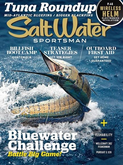 Salt Water Sportsman Cover - 11/1/2017