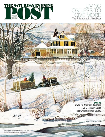 The Saturday Evening Post Cover - 11/1/2017