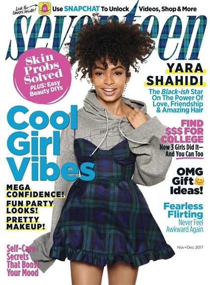 Seventeen Cover - 11/1/2017