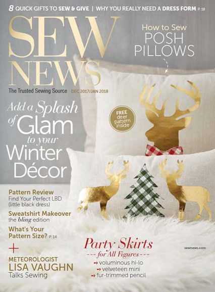 Sew News Cover - 12/1/2017