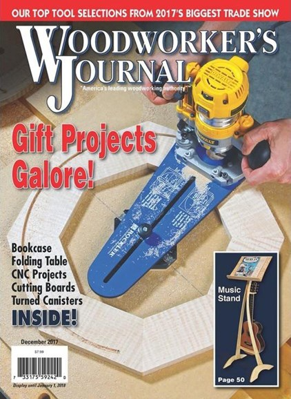 Woodworker's Journal Cover - 12/1/2017