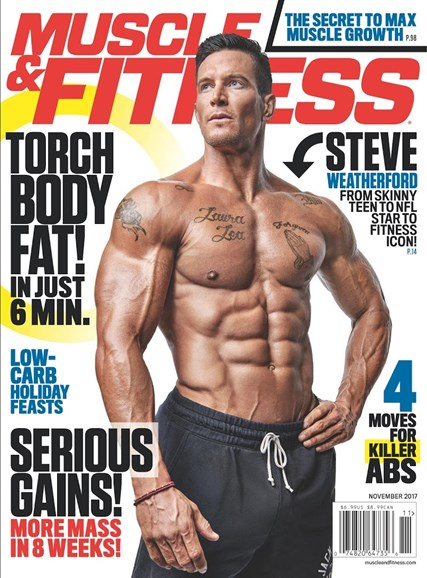 Muscle & Fitness Cover - 11/1/2017