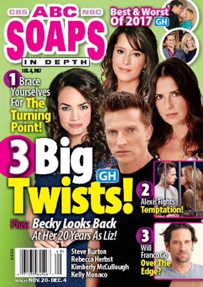 ABC Soaps In Depth Cover - 12/4/2017