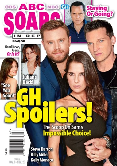ABC Soaps In Depth Cover - 11/20/2017