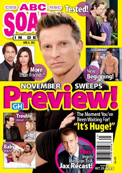 ABC Soaps In Depth Cover - 11/6/2017