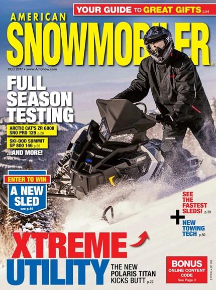 American Snowmobiler Cover - 12/1/2017