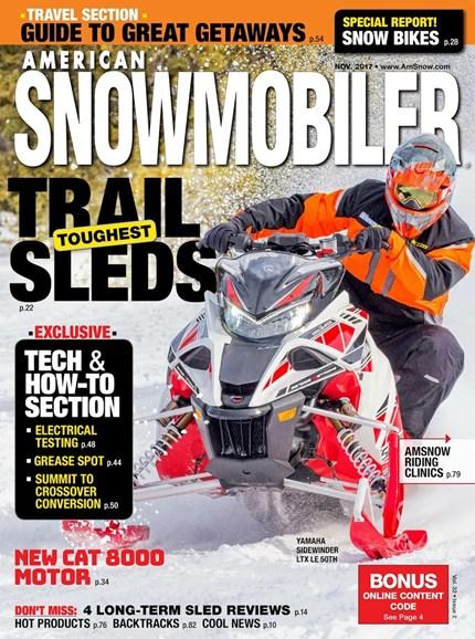 American Snowmobiler Cover - 11/1/2017