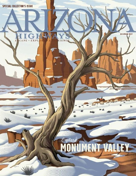 Arizona Highways Cover - 12/1/2017