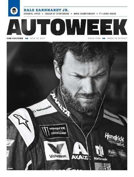 Autoweek Cover - 11/27/2017