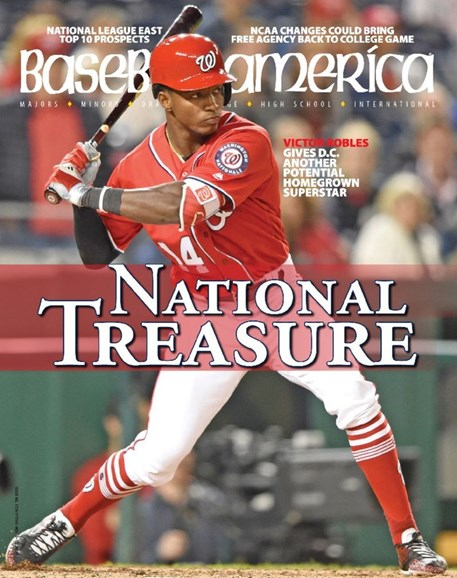Baseball America Cover - 11/3/2017