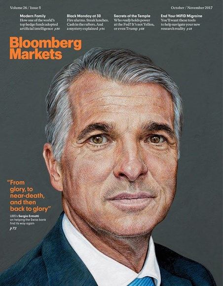 Bloomberg Markets Cover - 10/1/2017