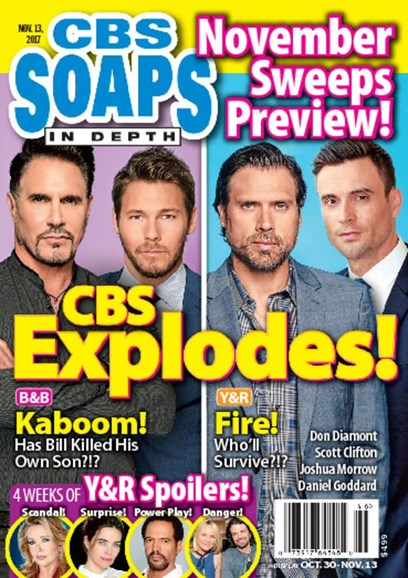 CBS Soaps In Depth Cover - 11/13/2017