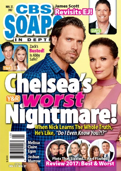 CBS Soaps In Depth Cover - 11/27/2017