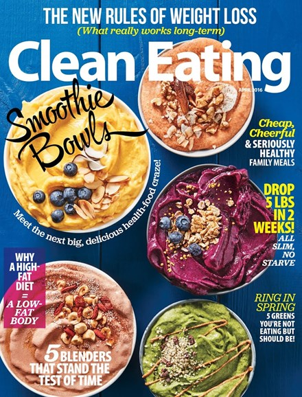 Clean Eating Cover - 4/1/2016