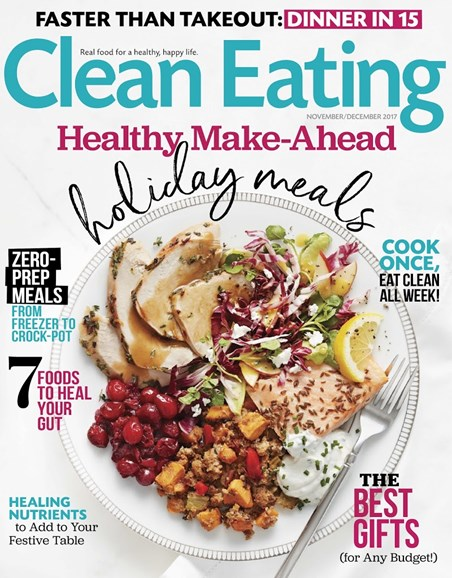Clean Eating Cover - 11/1/2017