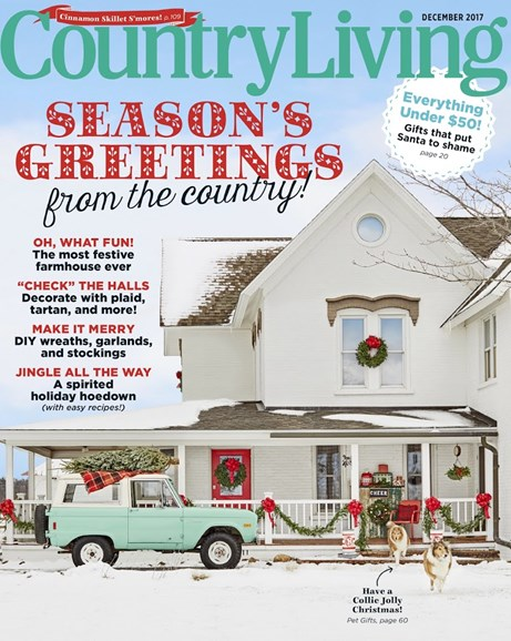 Country Living Cover - 12/1/2017