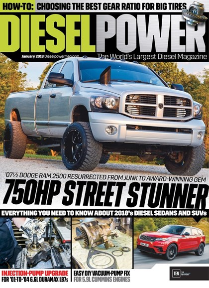 Diesel Power Cover - 1/1/2018
