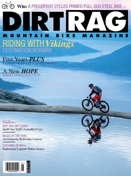 Dirt Rag Cover - 12/1/2017