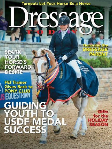 Dressage Today Cover - 11/1/2017