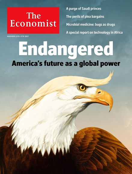 The Economist Cover - 11/11/2017