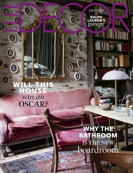 ELLE DECOR Cover - 12/1/2017