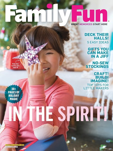 Family Fun Cover - 12/1/2017