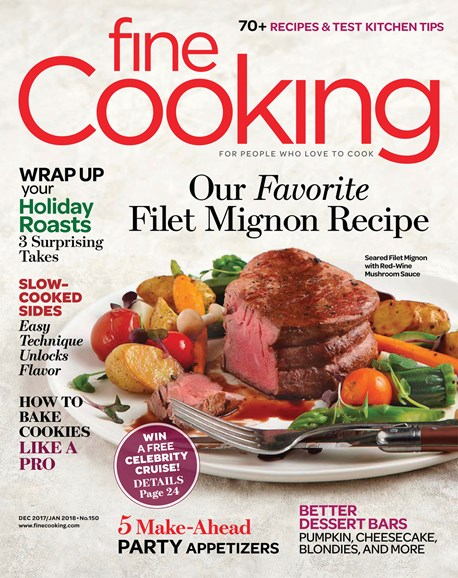 Fine Cooking Cover - 12/1/2017