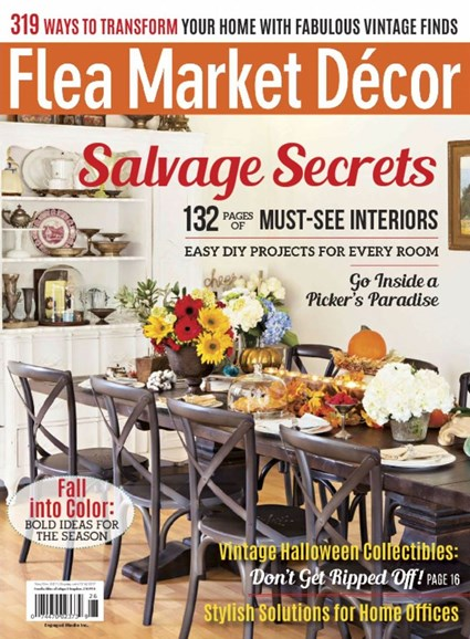 Flea Market Décor Cover - 11/1/2017
