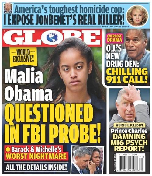 Globe Cover - 11/20/2017