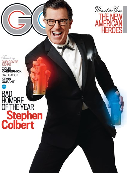 Gentlemen's Quarterly - GQ Cover - 12/1/2017
