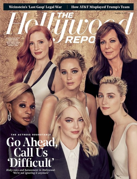The Hollywood Reporter Cover - 11/15/2017