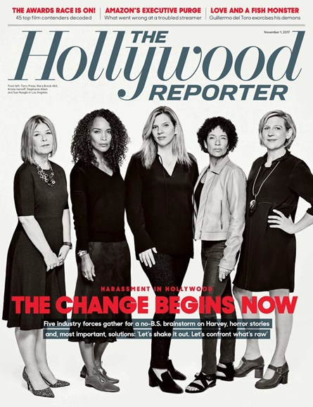 The Hollywood Reporter Cover - 11/1/2017