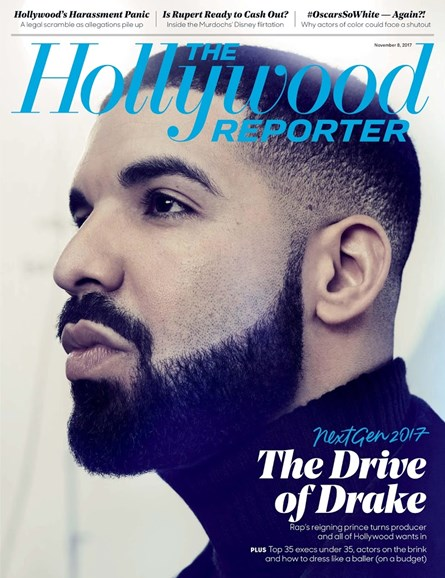The Hollywood Reporter Cover - 11/8/2017