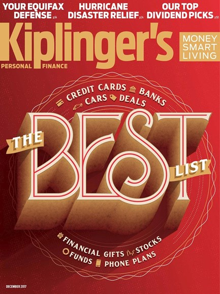 Kiplinger's Personal Finance Cover - 12/1/2017