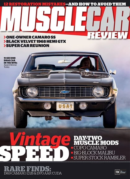 Muscle Car Review Cover - 12/1/2017