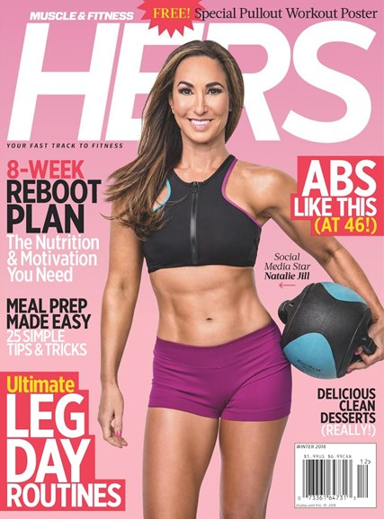 Muscle & Fitness Hers Cover - 12/1/2017