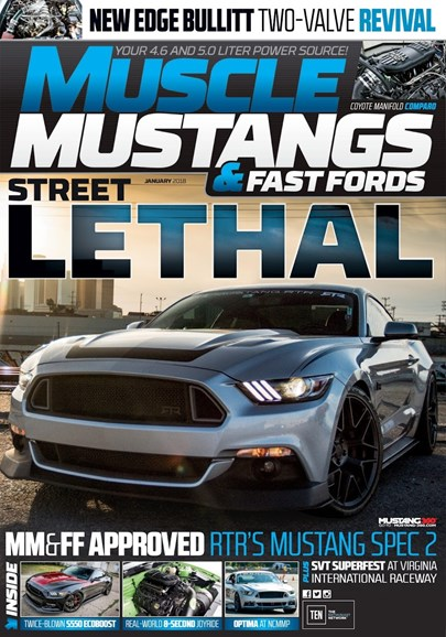 Muscle Mustangs & Fast Fords Cover - 1/1/2018