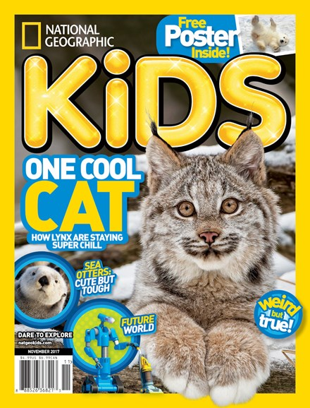 National Geographic Kids Cover - 11/1/2017