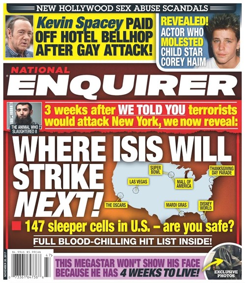 National Enquirer Cover - 11/20/2017
