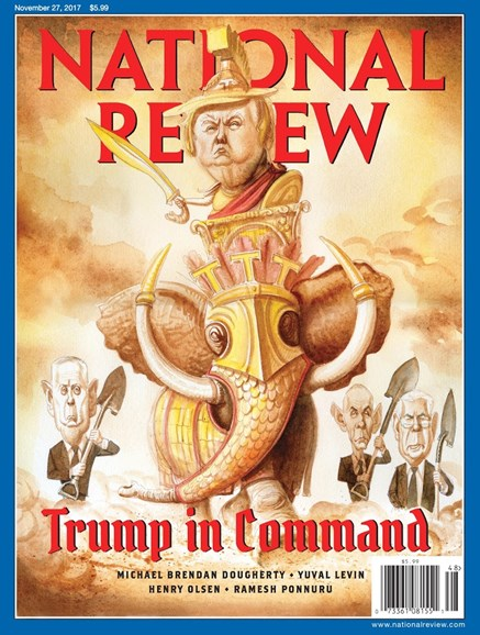 National Review Cover - 11/27/2017