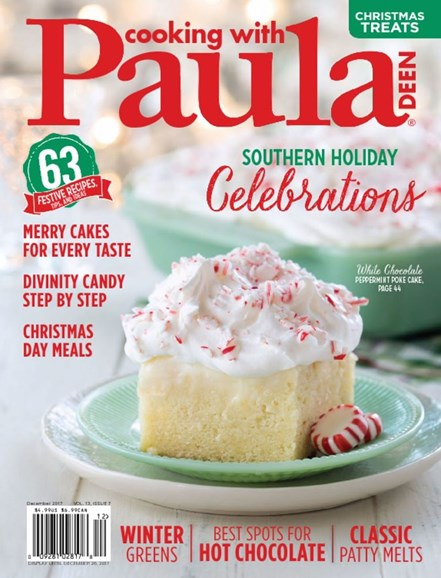 Cooking With Paula Deen Cover - 12/1/2017