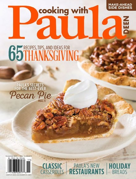 Cooking With Paula Deen Cover - 11/1/2017