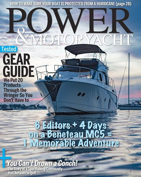 Power & Motoryacht Cover - 12/1/2017