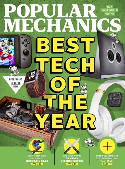 Popular Mechanics Cover - 12/1/2017