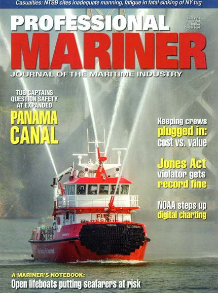Professional Mariner Cover - 8/1/2017