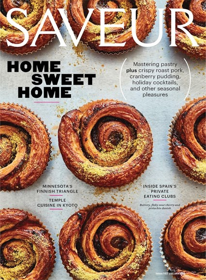 Saveur Cover - 12/1/2017