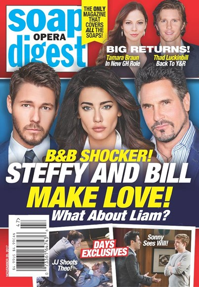 Soap Opera Digest Cover - 11/20/2017