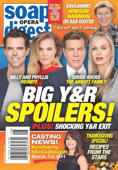 Soap Opera Digest Cover - 11/27/2017
