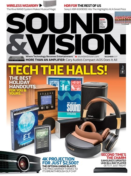 Sound & Vision Cover - 12/1/2017