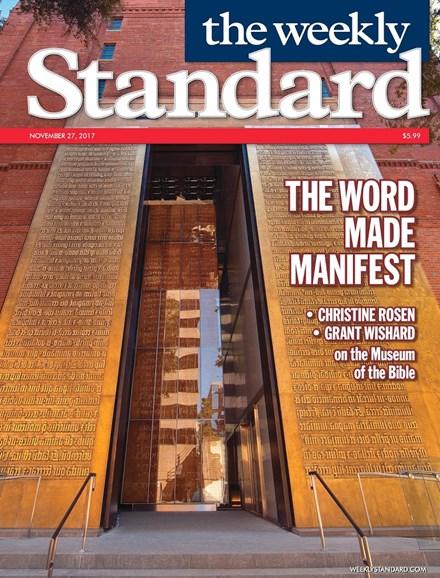 Washington Examiner Cover - 11/27/2017